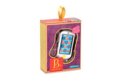 (BX1697Z) B. Toys, Touch Screen Hi Phone Metalic