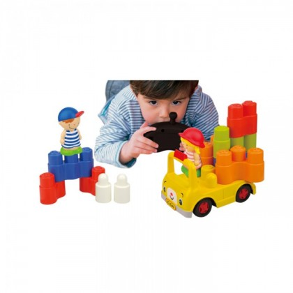 (KA10782) K's Kids, Remote Control School Bus