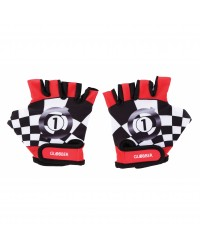 (GL528-102) Globber, Toddler Gloves - Racing Red