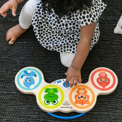 (HP11650-800803) Hape, Magic Touch Drums