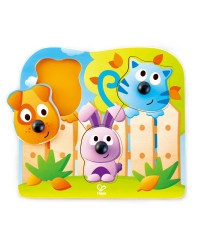 (HP1309) Hape, Big Nose Pet Puzzle