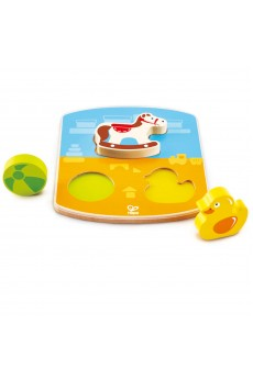 (HP1452) Hape, Chunky Toy Puzzle