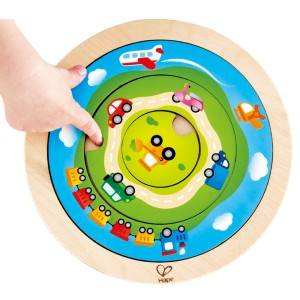 (HP1605) Hape, Spinning Transport Puzzle