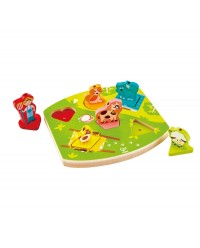 (HP1614) Hape, Farmyard Sound Puzzle