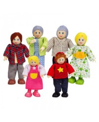 (HP3500) Hape, Happy Family - Caucasia