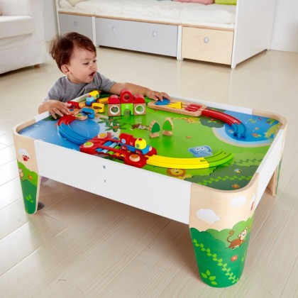 (HP3823) Hape, Railway Play Table