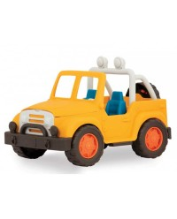 (VE1013Z) Wonder Wheels, 4x4 Yellow