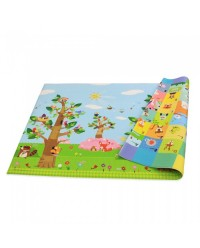 (BCP@BITT-1850x1250x12mm) Baby Care, PVC Playmat - Bird In The Tree