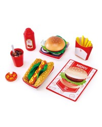 (HP3160) Hape, Fast Food Set