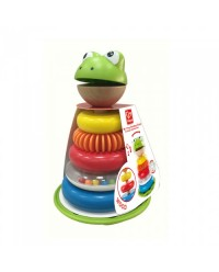 (HP0457) Hape, Mr. Frog Stacking Rings