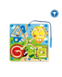 (HP1709) Hape, Best Bugs Magnetic Maze