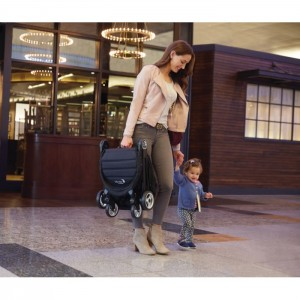 (BJ6JP101SAECA+BellyBar) Baby Jogger, City Tour 2 Stroller - Slate with Belly Bar