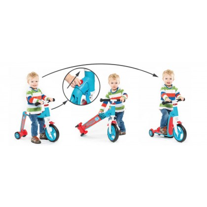 (SR96193) Scoot N Ride, Highwaybaby+ - Blue/Red