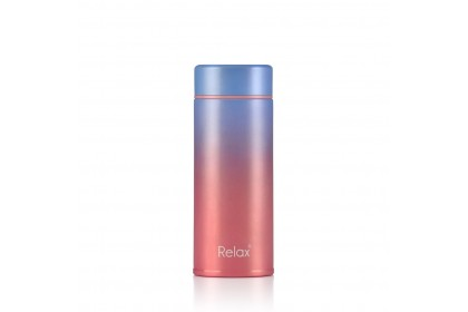 (D2125-15) Relax 250ml 18.8 Stainless  Steel Themal Flask (Pink)