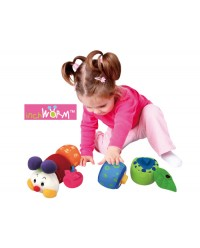 (KA10604) K's Kids, Inchworm Shape Sorter