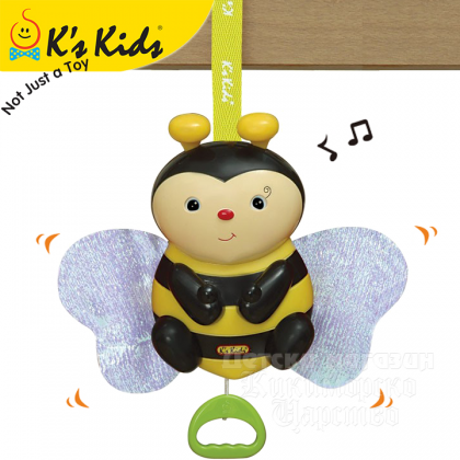 (KA10503) K's Kids, Clever Bee Pull & Move With Packaging