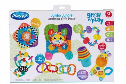 (PG0187224) Playgro, Jumbo Jungle Activity Gift Pack