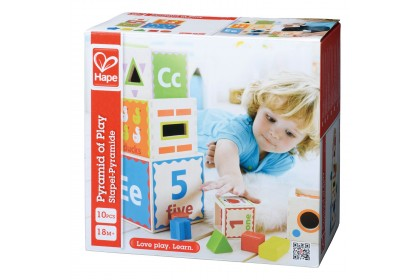 (HP0413) Hape, Pyramid Of Play
