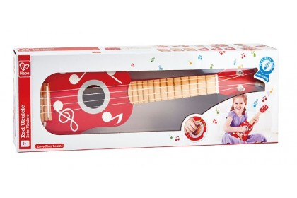 (HP0603) Hape, Ukulele Red