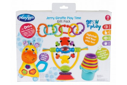 (PG0187223) Playgro, Jerry Giraffe PlayTime Gift Pack