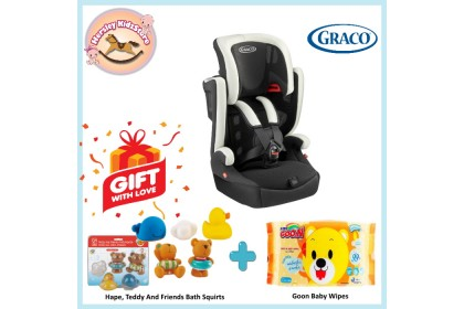 (GR2114507) Graco, Airpop Group 1.2.3 Combination Booster Seat - Black