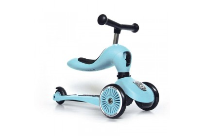 (SR96352) Scoot N Ride, Highway Kick 1 - Blueberry