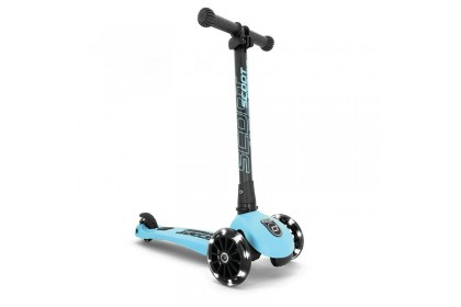 (SR96356) Scoot N Ride, Highway Kick 3 LED - Blueberry