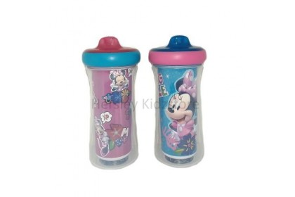 (Y11309-10979) The First Years, Minnie 9oz insulated Sippy Cup 2pk with AR