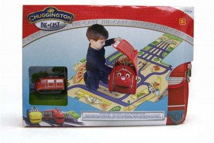 (LC54504) Chuggington, Wilson Carry Case Playmat