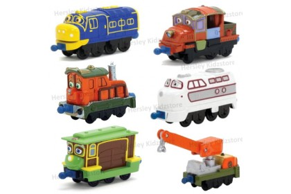 (LC54503) Chuggington, 6pc Gift Set w Playmat