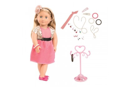 (BD31080Z) Our Generation, Jewelry Doll Audra