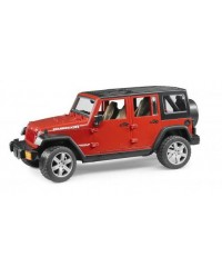 (BRU02525) Bruder, JEEP Wrangler Unlimited Rubicon