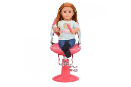 (BD37336Z) Our Generation, Salon Chair - Pink