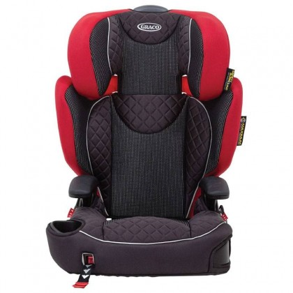 (GR8M99CPCHK) Graco, Affix High Back Booster Car Seat with Isocatch Connectors - Chilli Spice