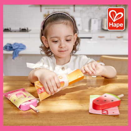 (HP3175) Hape, Perfect Popsicle Playset