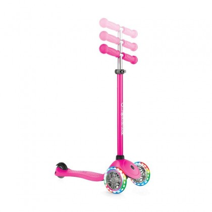 (GL423-110-3) Globber, Primo Light Scooter - Neon Pink