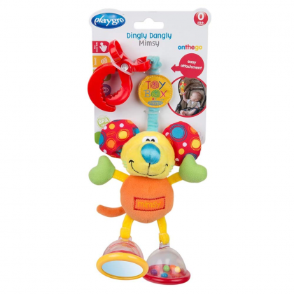 (PG0101141) Playgro, Toy Box Dingly Dangly Mimsy