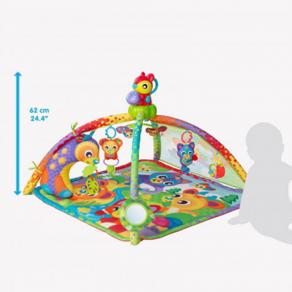 (PG0186993) Playgro, Woodlands Music & Lights Projector Gym
