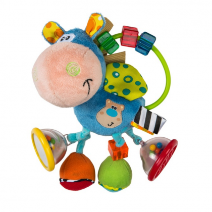 (PG0101145) Playgro, Toy Box Clip Clop Activity Rattle