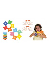 (KT21024) K's Kids, Pop Lock Stacking Squares