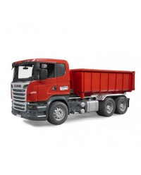 (BRU03522) Bruder, Scania R-series With Roll-Off-Container