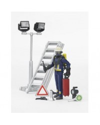 Bruder, Fire Brigade Figure-Set (BRU62700)