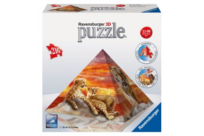 (R124930) Ravensburger, Big Cats 216pcs