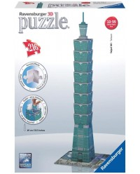 (R125586) Ravensburger, Taipei Tower Building 216pcs