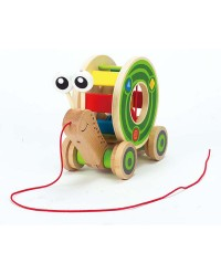 (HP0349) Hape, Walk-A-Long Snail