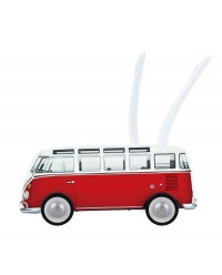 (HP0379) Hape, Classical Bus T1 Walker - Red