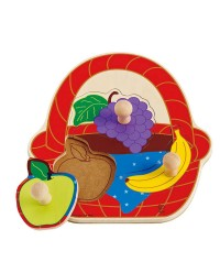 (HP1306) Hape, Fruit Basket Puzzle