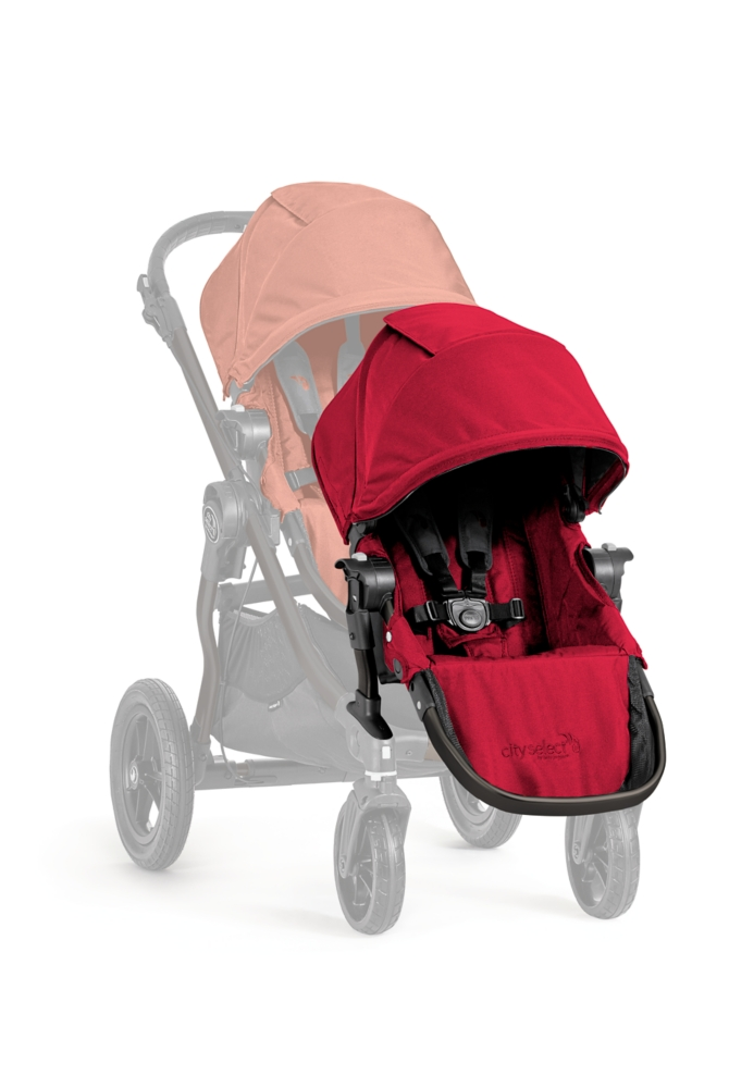 (BJ23436) Baby Jogger, City Select Stroller - Red