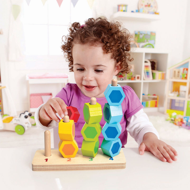(HP0504) Hape, Counting Stacker