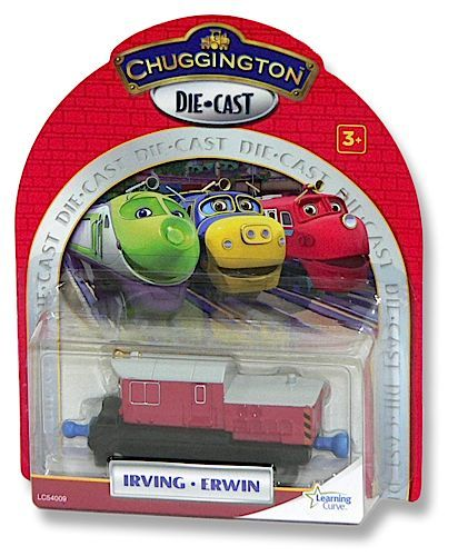 (LC54009) Chuggington, StackTrack Die-Cast - Irving